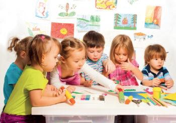 Kindergarten und Schule